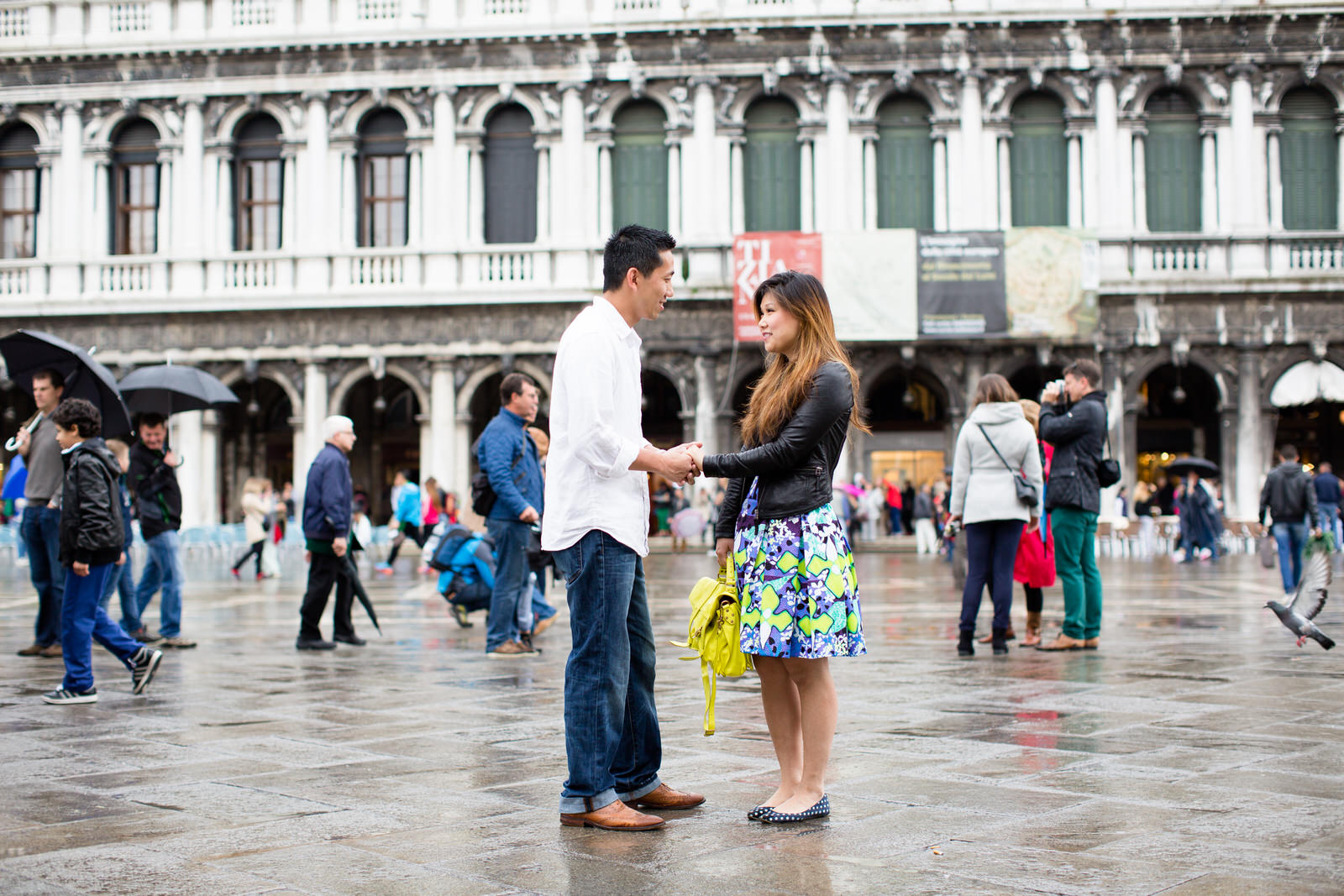Marriage Proposal Venice Italy | Engagement photography Venice wedding proposal in one of most romantic city in the world,What a wonderful surprise for her.