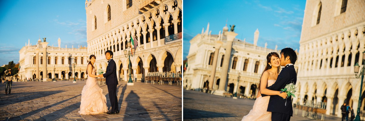 Post wedding Honeymoon photoshoot in Venice