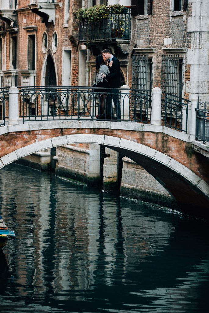 Romantic Wedding Proposal Venice