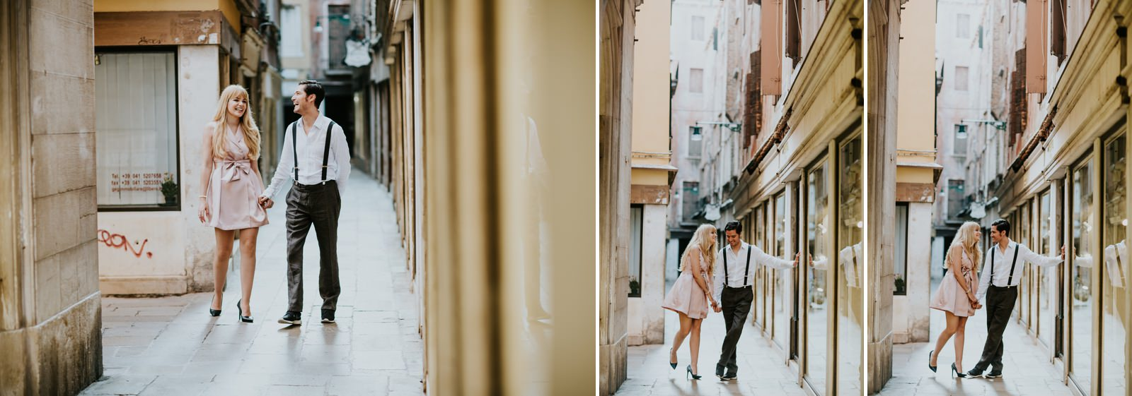 Honeymoon portraits Venice — AV-Photography Venice Wedding - Portrait Photographer