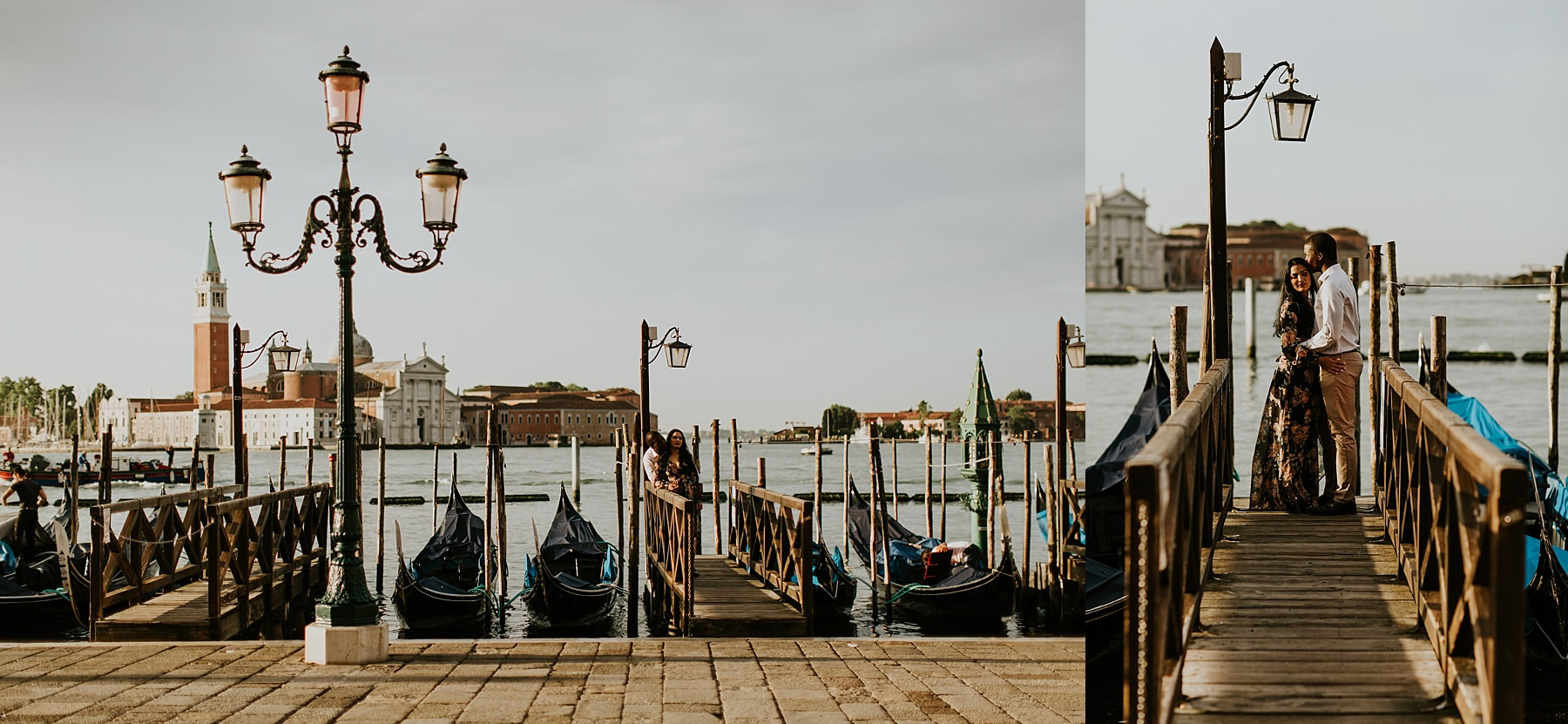 Honeymoon photo session in Venice